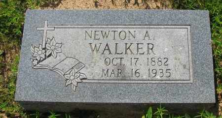 WALKER, NEWTON A - Pope County, Arkansas | NEWTON A WALKER - Arkansas Gravestone Photos