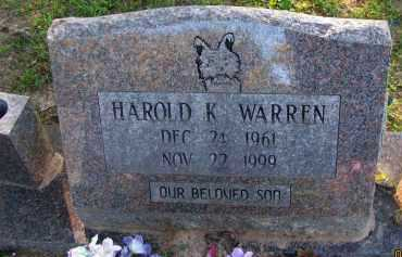 WARREN, HAROLD K - Pope County, Arkansas | HAROLD K WARREN - Arkansas Gravestone Photos