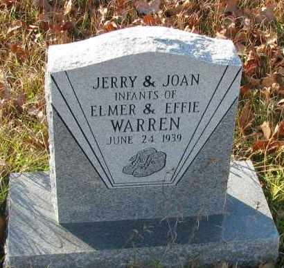 WARREN, JERRY - Pope County, Arkansas | JERRY WARREN - Arkansas Gravestone Photos