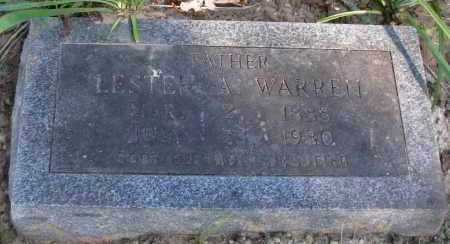 WARREN, LESTER A - Pope County, Arkansas | LESTER A WARREN - Arkansas Gravestone Photos