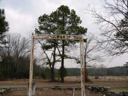*WASHBURN CEMETERY SIGN,  - Pope County, Arkansas |  *WASHBURN CEMETERY SIGN - Arkansas Gravestone Photos