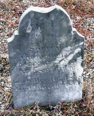 WASHBURN, HARRY CEPHAS - Pope County, Arkansas | HARRY CEPHAS WASHBURN - Arkansas Gravestone Photos