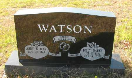 WATSON, BILLY DAREL - Pope County, Arkansas | BILLY DAREL WATSON - Arkansas Gravestone Photos