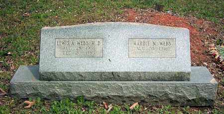 WEBB, DR. LEWIS  ALLEN - Pope County, Arkansas | DR. LEWIS  ALLEN WEBB - Arkansas Gravestone Photos
