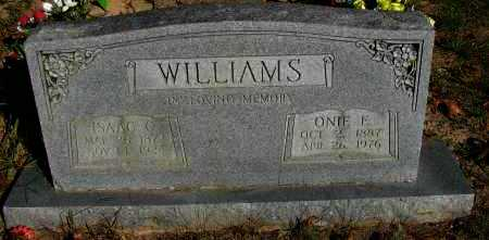 WILLIAMS, ONIE E - Pope County, Arkansas | ONIE E WILLIAMS - Arkansas Gravestone Photos