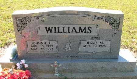 WILLIAMS, JOHNNIE C - Pope County, Arkansas | JOHNNIE C WILLIAMS - Arkansas Gravestone Photos