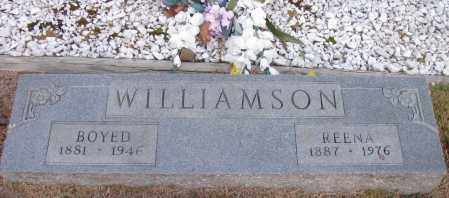 WILLIAMSON, BOYED - Pope County, Arkansas | BOYED WILLIAMSON - Arkansas Gravestone Photos
