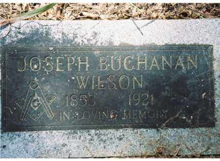 WILSON, JOSEPH BUCHANAN - Pope County, Arkansas | JOSEPH BUCHANAN WILSON - Arkansas Gravestone Photos