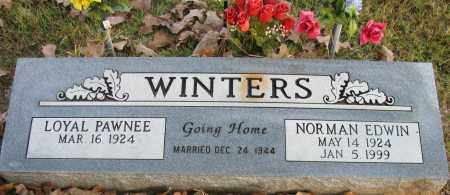 WINTERS, NORMAN EDWIN - Pope County, Arkansas | NORMAN EDWIN WINTERS - Arkansas Gravestone Photos