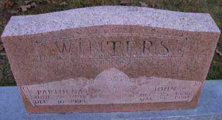 WINTERS, PARTHENA - Pope County, Arkansas | PARTHENA WINTERS - Arkansas Gravestone Photos