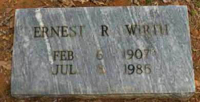 WIRTH, ERNEST R - Pope County, Arkansas | ERNEST R WIRTH - Arkansas Gravestone Photos