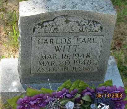 WITT, CARLOS EARL - Pope County, Arkansas | CARLOS EARL WITT - Arkansas Gravestone Photos