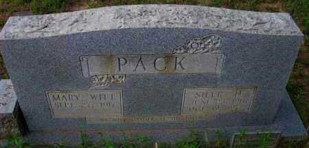 MCNUTT WITT, MARY PACK - Pope County, Arkansas | MARY PACK MCNUTT WITT - Arkansas Gravestone Photos