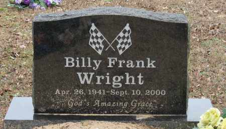 WRIGHT, BILLY FRANK - Pope County, Arkansas | BILLY FRANK WRIGHT - Arkansas Gravestone Photos