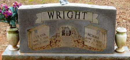 WRIGHT, FRANK - Pope County, Arkansas | FRANK WRIGHT - Arkansas Gravestone Photos