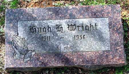 WRIGHT, HUGH H - Pope County, Arkansas | HUGH H WRIGHT - Arkansas Gravestone Photos