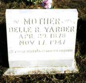 YARBER, BELLE R - Pope County, Arkansas | BELLE R YARBER - Arkansas Gravestone Photos