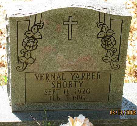 "YARBER, VERNAL ""SHORTY"" - Pope County, Arkansas 