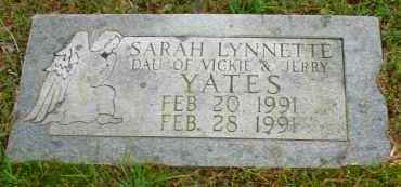 YATES, SARAH LYNNETTE - Pope County, Arkansas | SARAH LYNNETTE YATES - Arkansas Gravestone Photos