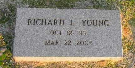YOUNG, RICHARD L - Pope County, Arkansas | RICHARD L YOUNG - Arkansas Gravestone Photos