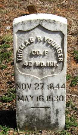 YOUNGER  (VETERAN UNION), THOMAS P - Pope County, Arkansas | THOMAS P YOUNGER  (VETERAN UNION) - Arkansas Gravestone Photos