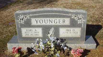 YOUNGER, EARL A - Pope County, Arkansas | EARL A YOUNGER - Arkansas Gravestone Photos