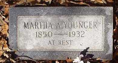 YOUNGER, MARTHA ANN - Pope County, Arkansas | MARTHA ANN YOUNGER - Arkansas Gravestone Photos