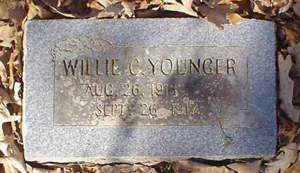 YOUNGER, WILLIE C - Pope County, Arkansas | WILLIE C YOUNGER - Arkansas Gravestone Photos