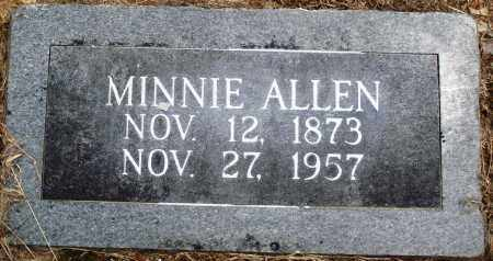 ALLEN, MINNIE - Prairie County, Arkansas | MINNIE ALLEN - Arkansas Gravestone Photos