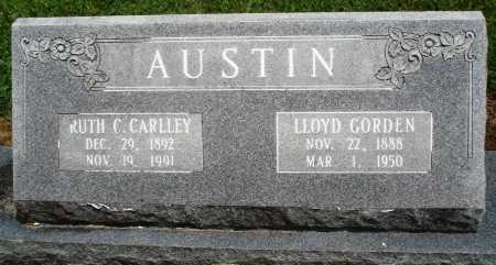 AUSTIN, LLOYD GORDEN - Prairie County, Arkansas | LLOYD GORDEN AUSTIN - Arkansas Gravestone Photos