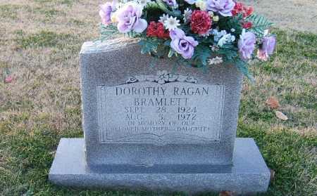 RAGAN BRAMLETT, DOROTHY - Prairie County, Arkansas | DOROTHY RAGAN BRAMLETT - Arkansas Gravestone Photos