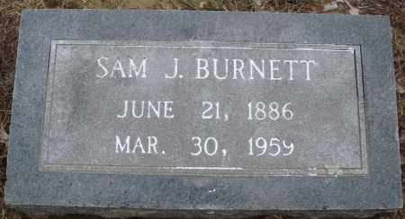 BURNETT, SAM J - Prairie County, Arkansas | SAM J BURNETT - Arkansas Gravestone Photos