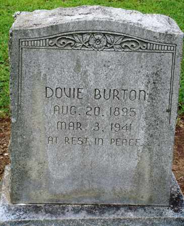 BURTON, DOVIE - Prairie County, Arkansas | DOVIE BURTON - Arkansas Gravestone Photos