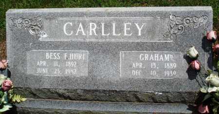 CARLLEY, GRAHAM - Prairie County, Arkansas | GRAHAM CARLLEY - Arkansas Gravestone Photos