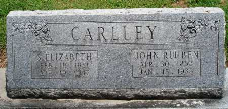 CARLLEY, S ELIZABETH - Prairie County, Arkansas | S ELIZABETH CARLLEY - Arkansas Gravestone Photos