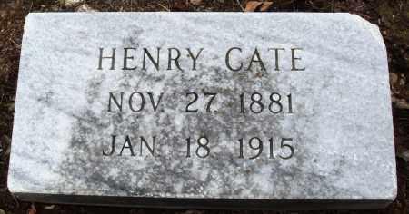 CATE, HENRY - Prairie County, Arkansas | HENRY CATE - Arkansas Gravestone Photos