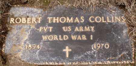 COLLINS (VETERAN WWI), ROBERT THOMAS - Prairie County, Arkansas | ROBERT THOMAS COLLINS (VETERAN WWI) - Arkansas Gravestone Photos