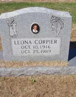 CORPIER, LEONA - Prairie County, Arkansas | LEONA CORPIER - Arkansas Gravestone Photos