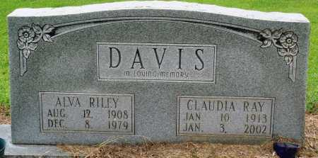 DAVIS, ALVA RILEY - Prairie County, Arkansas | ALVA RILEY DAVIS - Arkansas Gravestone Photos