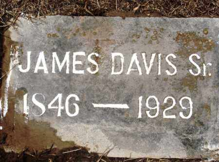 DAVIS, SR, JAMES - Prairie County, Arkansas | JAMES DAVIS, SR - Arkansas Gravestone Photos