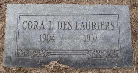 DES LAURIERS, CORA L - Prairie County, Arkansas | CORA L DES LAURIERS - Arkansas Gravestone Photos
