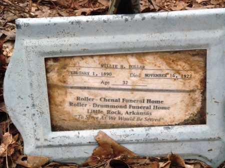 DOLLAR, WILLIE H - Prairie County, Arkansas | WILLIE H DOLLAR - Arkansas Gravestone Photos