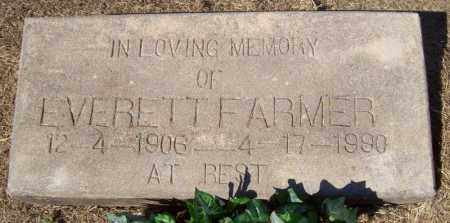 FARMER, EVERETT - Prairie County, Arkansas | EVERETT FARMER - Arkansas Gravestone Photos
