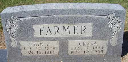 "HARVEL FARMER, LUCRETIA JAN ""CRESIA"" - Prairie County, Arkansas 