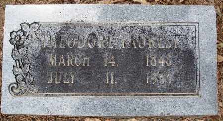 FAUREST, THEODORE - Prairie County, Arkansas | THEODORE FAUREST - Arkansas Gravestone Photos