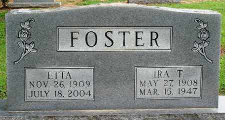 FOSTER, IRA T - Prairie County, Arkansas | IRA T FOSTER - Arkansas Gravestone Photos
