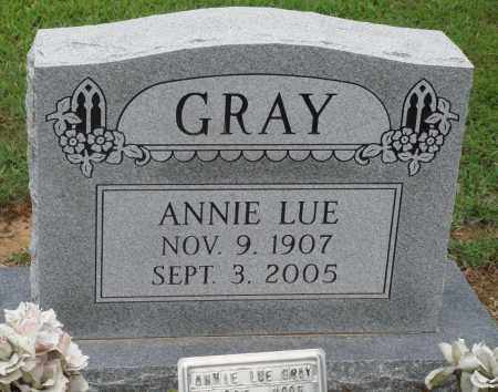 GRAY, ANNIE LUE - Prairie County, Arkansas | ANNIE LUE GRAY - Arkansas Gravestone Photos