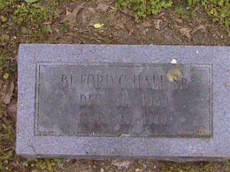 HALL, BUFORD - Prairie County, Arkansas | BUFORD HALL - Arkansas Gravestone Photos