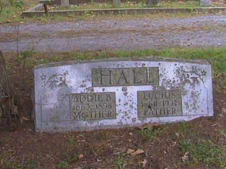 HALL, ADDIE BELL - Prairie County, Arkansas | ADDIE BELL HALL - Arkansas Gravestone Photos