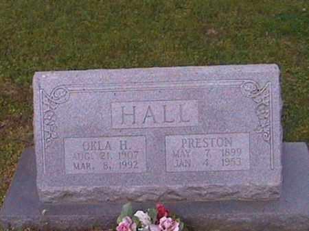 HALL, PRESTON - Prairie County, Arkansas | PRESTON HALL - Arkansas Gravestone Photos